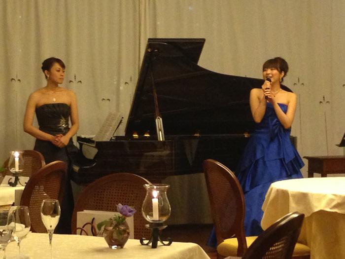 ソプラノ 上田真野子 ピアノ 高田絢子