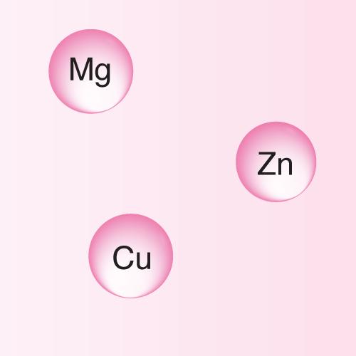 3 minerals
